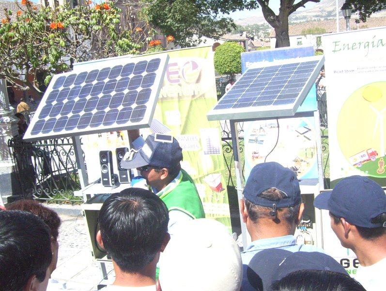 Promueven uso de la energía solar en Ayacucho