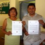 Rindieron homenaje a ex alcalde de Tingo María Tito Jaime Fernández