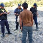 Serenazgo de Tingo María interviene fumadero de escolares en playa Barranquito