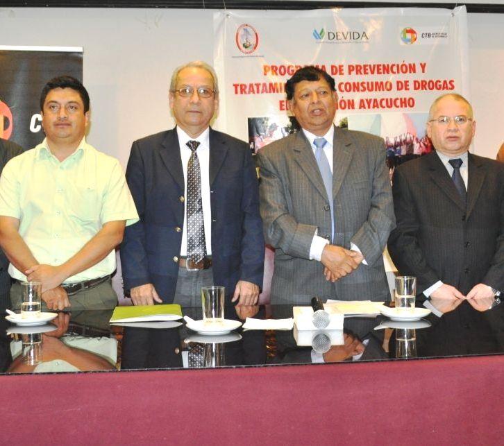 Ayacucho retoma la iniciativa e inicia programa para prevenir consumo de drogas