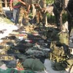 Policía incauta gran cantidad de armas y pertrechos militares de Sendero Luminoso en Alto Pacae