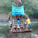 Tres expedicionarios inician travesía fluvial hacia el trapecio amazónico
