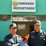 Policía recupera gallito de las rocas que había escapado de traficantes de animales silvestres