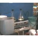 Desactivan laboratorio de elaboración de ácido clorhidrico, insumo principal para la producción de droga