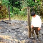 Malas prácticas agrícolas generan incendios forestales en el VRAE