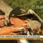 Desarticulan control senderista en margen derecha del río Huallaga (video)