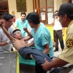 Tres muertos y 23 heridos graves en simulacro de sismo en Tingo María