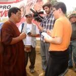 Delegación de periodistas nacionales e internacionales visitó el VRAE