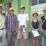 Doce jóvenes voluntarios alemanes se unen a trabajo por el medio ambiente en Tingo María