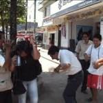 Cientos de abejas atacan a varias personas en pleno centro de Tingo María