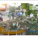 Candidato al distrito de Ayna salva de morir en accidente (video)