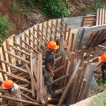 Retoman trabajos en la canalización de la Quebrada Cushuro en Leoncio Prado