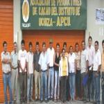 Cacaoteros de Uchiza firman convenio con Programa de Desarrollo Alternativo