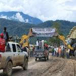 Carretera Kepashiato-Kimbiri en el VRAE ya es una realidad