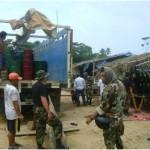 Incautan 9,515 galones de combustible destinado a la minería ilegal