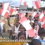 Inauguran segunda etapa de electrificación en el centro poblado Paraíso (video)