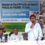 Emocionado agradecimiento de alcalde de Paraíso por obras en su comunidad