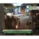 Tres policías heridos en emboscada a patrulla que trasladaba material electoral del VRAE (video)