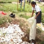 Escolares líderes del VRAE promueven conservación del medio ambiente