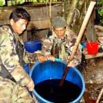 Narcotraficantes fabrican su propio Kerosene en el valle del Monzón