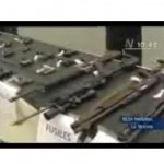 Ministro del Interior presentó armas de fuego incautadas (video)