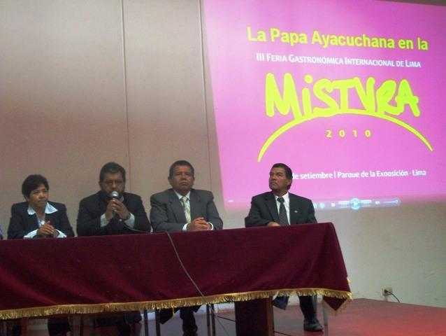 "Ayacucho tendrá su ""Mistura"""