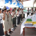 Juramentaron nuevos Fiscales Escolares en distrito de Inambari – Mazuko