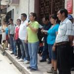 Cuestionan a Nancy Obregón en Aguaytía