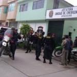 Redoblan seguridad en Oficina Departamental de Procesos Eectorales en Huamanga