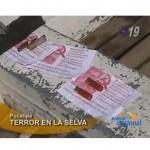Incautan propaganda subversiva tras tiroteo en el río Aguaytía (video)
