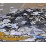 Pobladores destruyen material electoral en distrito de Huanta (video)