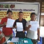 Agricultores se inscriben en el Programa de Desarrollo Alternativo en Ucayali y Huánuco