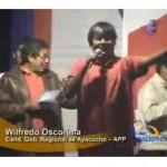 Oscorima inicia campaña para eventual segunda vuelta en Ayacucho (video)