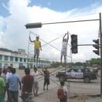 Colocarán semáforos en puntos críticos de Aucayacu