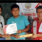 Capacitan a jóvenes del VRAE en post cosecha de café y cacao