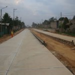 Avanzan obras de pavimentación de vía hacia el terminal aéreo de Puerto Maldonado