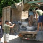 Incautan más de seis toneladas de cal en el Alto Huallaga