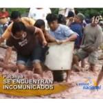 Huaycos y desborde de río Yurayacu aíslan a Pucallpa (video)