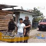 Policía incauta once kilos de PBC en Tingo María (video)