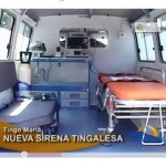 Entregan ambulancia totalmente equipada para hospital de Tingo Maria (video)