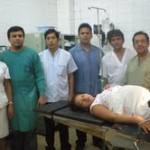 Nace bebe con más de seis kilos de peso en el Centro de Salud de Aguaytía