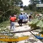 Cocaleros bloquean carretera al valle del Monzón (video)