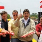 Ministro de Transportes inauguró vía en Iñapari de la Interoceánica Sur