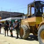 Recuperan terrenos pertenecientes al Ministerio de Transportes en Kimbiri
