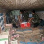 Policía incauta casi una tonelada de insumos químicos destinados al narcotráfico