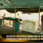 Desbaratan mega laboratorio de clorhidrato de cocaína en Piura (video)