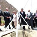 Colocan la primera piedra del museo Lugar de la Memoria