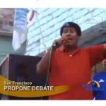 Candidato Oscorima pide debate en el VRAE (video)