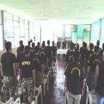 Policías de Aucayacu en el Alto Huallaga se capacitan en Derechos Humanos