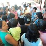 En colegio de Aguaytía cobran por entregar uniformes escolares donados